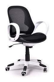 fauteuil de bureau noir fauteuil de bureau moderne blanc et noir monti lestendances fr