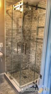 Frameless Shower Doors Phoenix by 13 Best Sliding Frameless Shower Doors Images On Pinterest