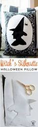 witch boot halloween decorations witch u0027s silhouette halloween pillow free sewing pattern