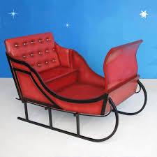 santa sleigh for sale outdoor santa sleighs and more christmasnightinc