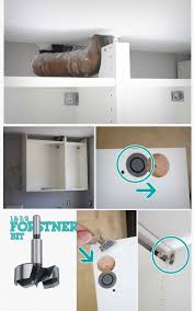 how to hide a soffit in akurum upper cabinet ikea hackers ikea
