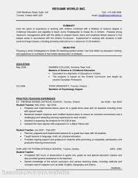 Resume Ongoing Education 64 Resume Template Chronological Doc 496719 Secretary