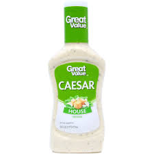 great value caesar house dressing 16 fl oz walmart com