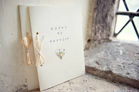 Simple Wedding Ceremony Program 30 Of The Best Ceremony Booklet Ideas Weddingsonline