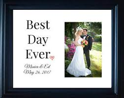 personalized wedding photo frame personalized wedding frame etsy