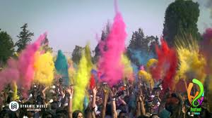 holi festival of colours mexico city 2014 youtube