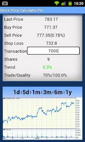 android stock price stock price calculator free android reviews at android quality index