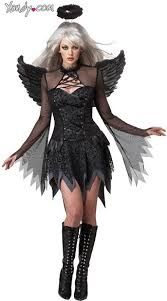 scary womens costumes angel costume black angel costume scary womens angel