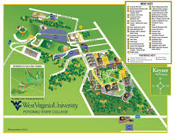 Us State Abbreviations Map Potomac State College Virtual Campus Tour