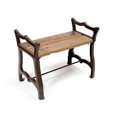 Rustic Wooden Bench Cast Iron And Wood Furniture Christordecor Com Christor Decor