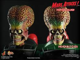 Mars Attacks Halloween Costume Toys Mms 107 Mars Attacks 1 6th Scale Martian Soldier