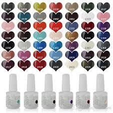 fashion ido gelish nail art soak off any uv led gel nail polish