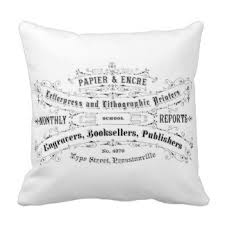 custom vintage chic throw cushions zazzle co uk