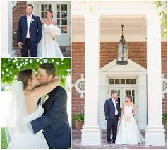 wedding first look at idle hour country club in lexington