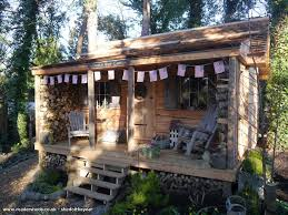 wood cabin teasel s wood cabin cabin summerhouse from back garden owned by