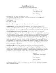 cover letter job cover letter sample for resume job cover letter