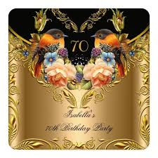 1329 best 70th birthday invitations images on pinterest 70th