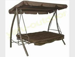 patio swing chair swing bed garden furniture folding swing chair for