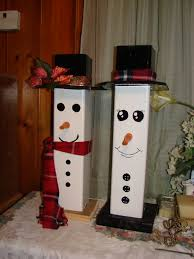 snowmen made out of pvc fence post snowman pinterest snowman