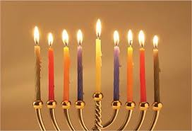 hanukka candles hanukkah candles cards with christmas and hanukkah candles