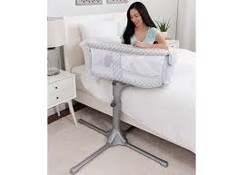 Baby Sleeper In Bed Halo Bassinest Swivel Sleeper Bedside Bassinet For Baby