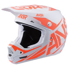 answer motocross helmets answer new mx 2017 ansr evolve 3 dirt bike ktm white orange