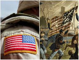 Backwards Us Flag Former Soldiers Reveal What Really Happens In The Army