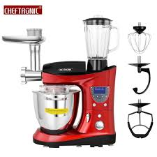 Kitchen Stand Mixer by Cheftronic Heating Bowl Multifunction Kitchen Stand Mixer Sm 1088