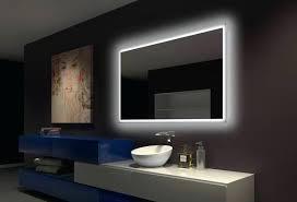 Led Backlit Bathroom Mirror Backlit Bathroom Mirror Mirror Design