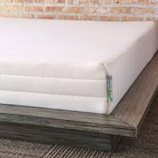 Latex Vs Memory Foam Sleepopolis Amazon Com Pure Green Natural Latex Mattress Firm Queen