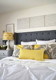 elegant tufted headboard u2014 decor trends