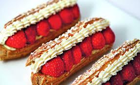 aux fraises cuisine éclairs aux fraises par l école de cuisine alain ducasse