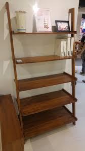 Brown Ladder Shelf Ladder Bookshelf From Scanteak My Future Home Pinterest