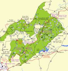 carolina national forests appalachian toecane and