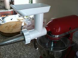 Kitchen Aid Grinder Attachment The Curried Cook Homemade Tomato Sauce With The Kitchenaid