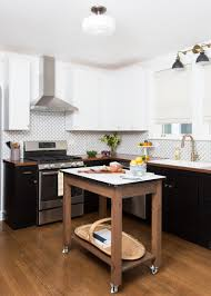 by design kitchens stylish black and white kitchen remodel