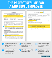 Best Resume Font Business Insider by 6 Reasons This Is An Excellent Resume For A Mid Level Employee