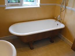 things to know about cast iron bathtubs keribrownhomes furniture vintage modern cast iron bathtub design with claw feet re enamelled roll top bath