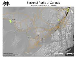 Canada National Parks Map by National Parks Of Canada U2013 Maps