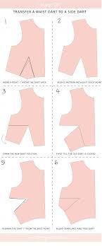 dress pattern without darts tutorial how to transfer bust dart location megan nielsen design
