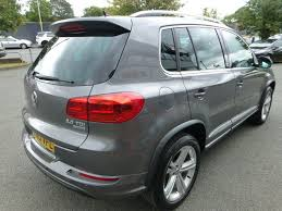 volkswagen tiguan black 2013 used 2013 vw tiguan r line tdi bluemotion technology 4motion fsh