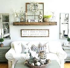 Rustic Room Decor Large Mantel Decor Idea Rustic Wall Decor Idea Featuring Reclaimed