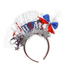 4th of july headbands 4th of july patriotic party fascinator headband usa