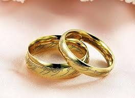 wedding ring dubai fashion ring the lord of the rings jewelry stainless steel