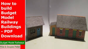 how to build an affordable house how to build budget model railway buildings pdf download youtube