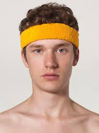 headband sports american apparel flex terry headband evan webster ink