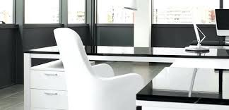 bureau d angle laqué blanc bureau laque blanc design bureau design laquac blanc grace