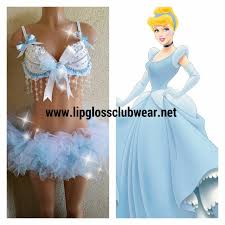 cinderella inspired rave costume for raves music concerts