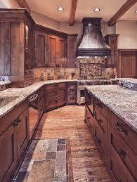 kitchen rustic kitchen design with wooden kitchen island marble