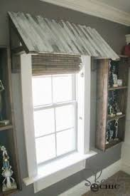 Homemade Window Awnings Corrugated Metal Awning Diy U2013 Two Paws Farmhouse Projects